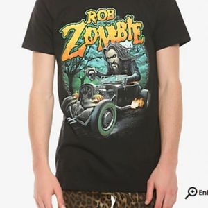 NWOT Hot Topic Rob Zombie Dragster Tshirt XXL